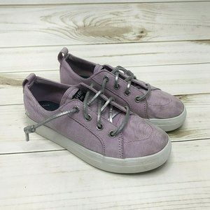 Sperry Top-Sider Girl's Lace Up Sneakers Sz12.5